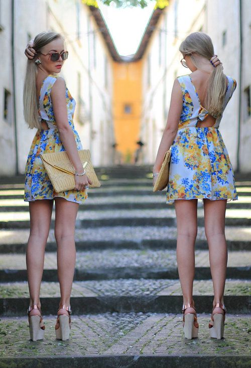 36 Colorful Street Style With Flowers Print Combinations http://pinterest.com/superbycarolina/