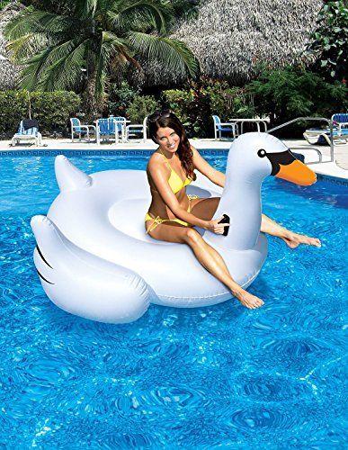 Wasserversorgung Berg PVC aufblasbare Schwan Schwimmbad Arbeitnehmer Unisex: Schwimmen Ring/2-3 man verwenden kann, Wasser-Freizeit-Spielzeug, http://www.amazon.de/dp/B01DVIFRS2/ref=cm_sw_r_pi_awdl_aVYkxb1FG8TEK