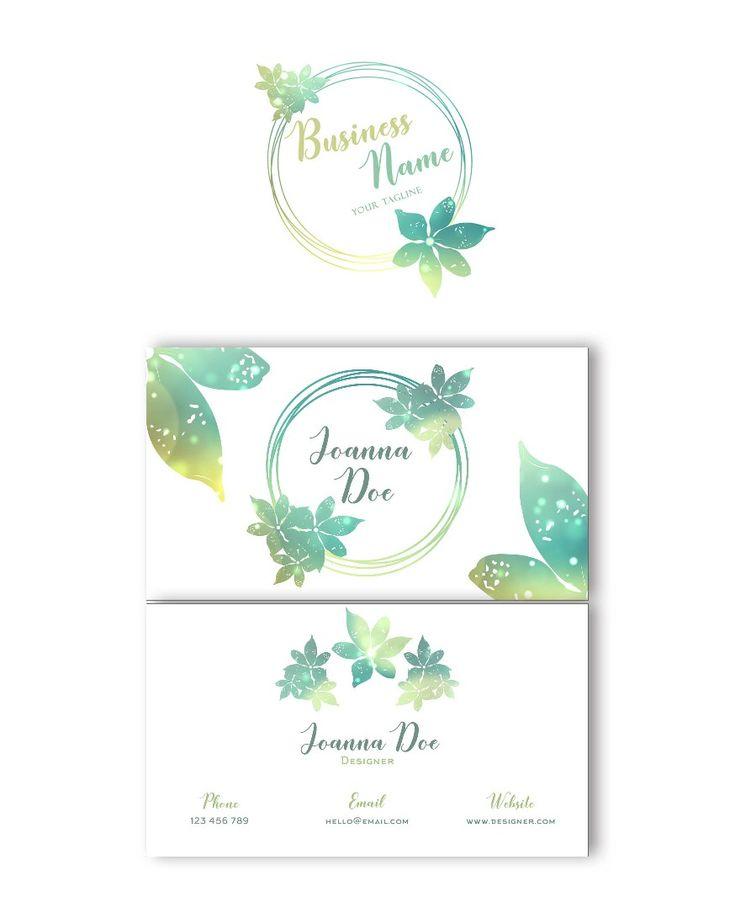 Excited to share the latest addition to my #etsy shop: Logo design + Business card design #businesscard #businesscarddesign #logodesign #customlogodesign #smallbusiness #etsyshop #etsyseller #floraldesign  http://etsy.me/2CQgRS0