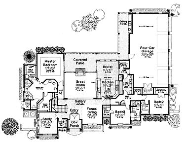 Country House Floor Plans On English Cottage Small House Plans