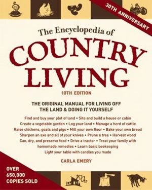 Encyclopedia of Country Living 10th Edition #FCThankful