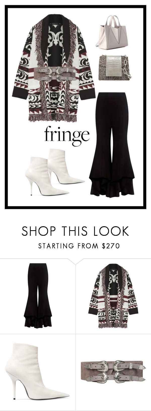"""""""Untitled #78"""" by qirong-wendy ❤ liked on Polyvore featuring Alexis, Etro, Balenciaga and Nancy Gonzalez"""