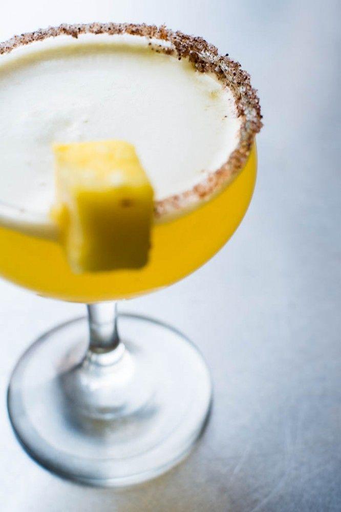 The Mai Thai, a Rum-Pineapple Thai Cocktail