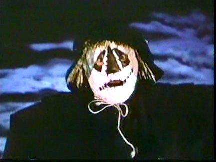 Patrick McGoohan as THE SCARECROW OF ROMNEY MARSH.