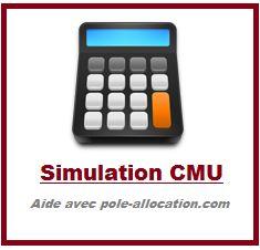 Simulation CMU-Complémentaire (Couverture Maladie Universelle)