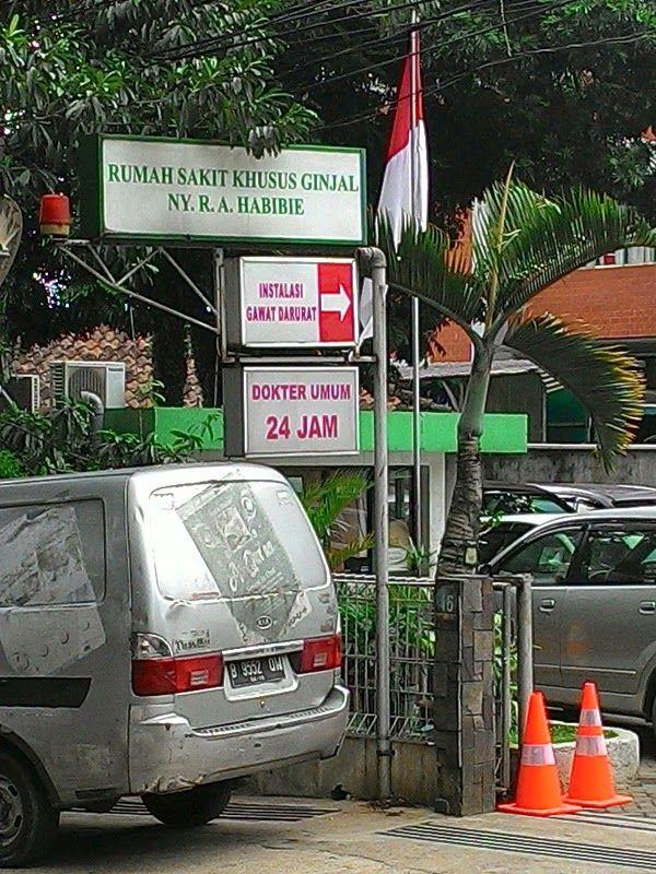 Jajaka Kulon: alamat rumah sakit ginjal R.A Ainun Habibie Bandung