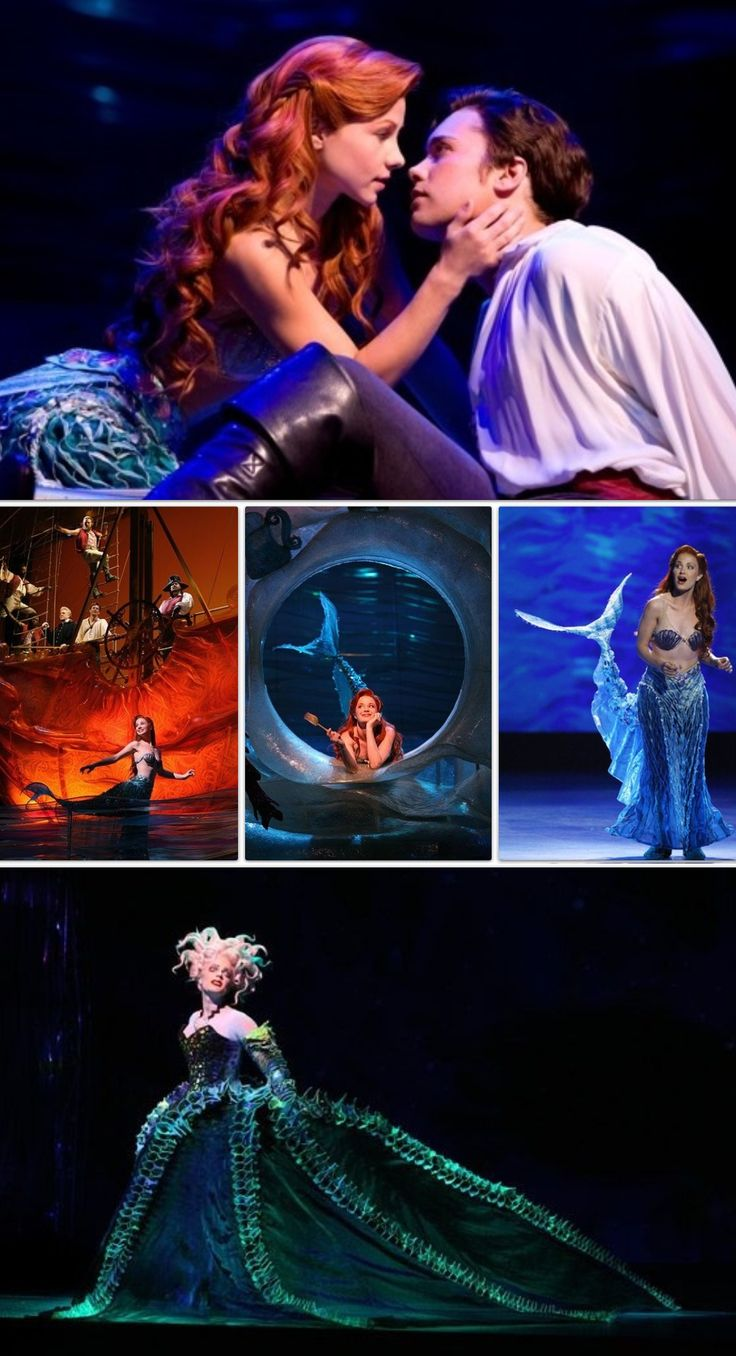 The Little Mermaid Broadway. I wish I could of went when it was in NYC. My fav Disney princess