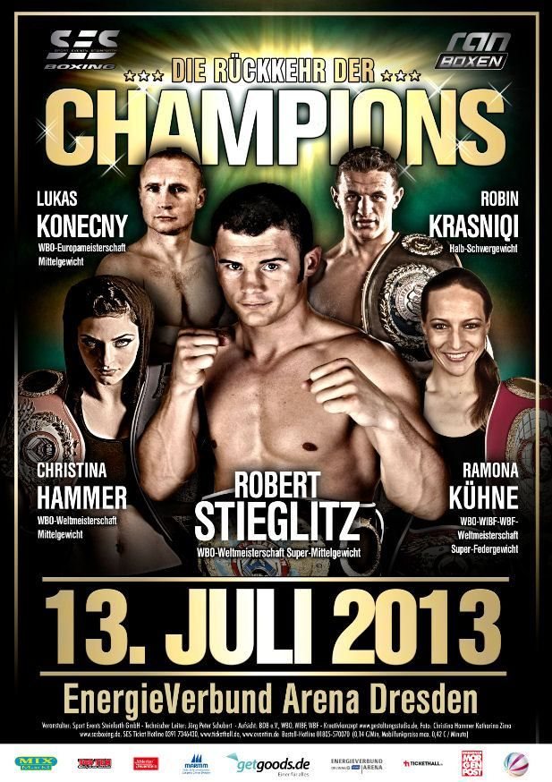 LIVESTREAM: Stieglitz vs Yuzo Kiyota, Hammer vs Laurén etc http://www.boxingguru.eu/ Sat 13th Jul: 9.20pm UK, 8.20pm CET, 4.20pm EST WBO super middleweight title Robert Stieglitz vs Yuzo Kiyota WBO...