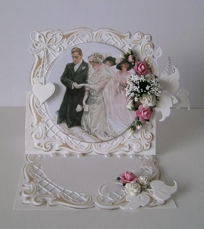 Från Pysselbordet - Handmade Card using Marianne Creatables Design Dies