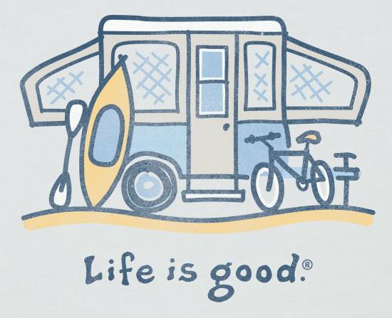 Life is Good Tent Trailer from Starling Travel