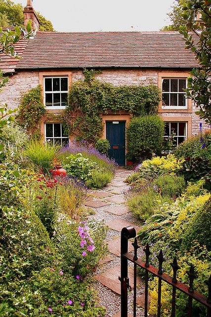 A Tideswell Cottage, in Derbyshire, England
