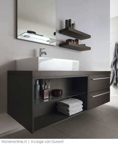 Badkamermeubelen X-Large by Duravit - badkamer - douche - wastafels - toiletten