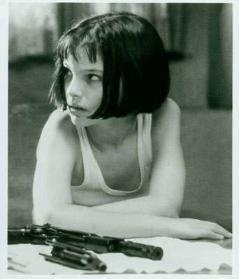 Mathilda... Natalie Portman from the movie La Professionale