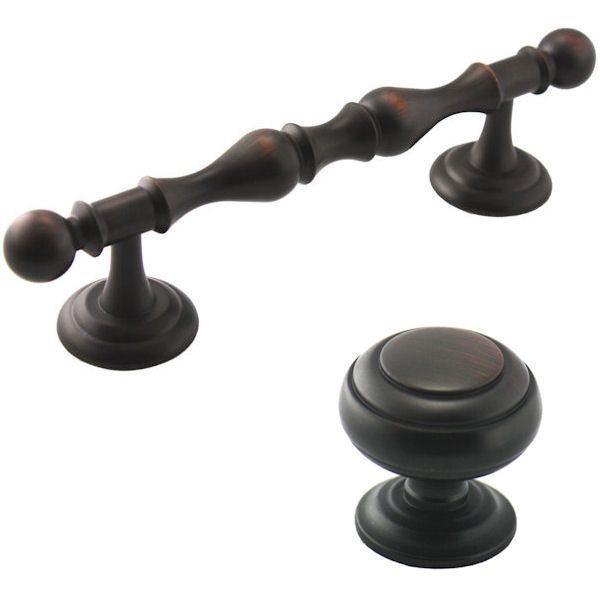 4 inch kitchen cabinet pulls details about cosmas rubbed bronze cabinet hardware 7352