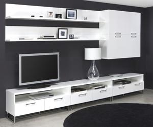 Tv cabinet, white tv unit,