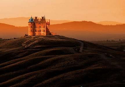 A Castle in the middle of nowhere