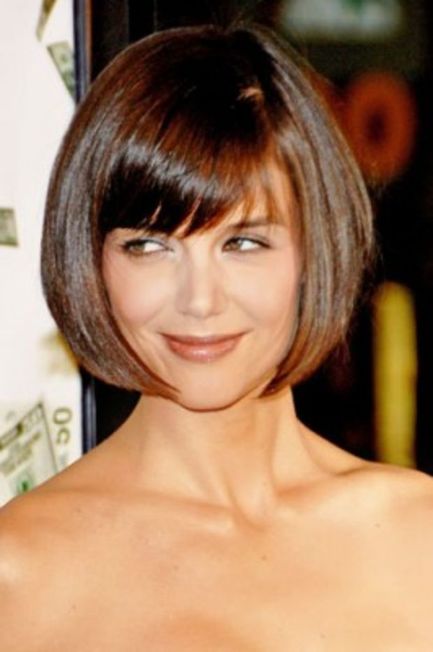 Katie Holmes Hairstyles Pleasing 41 Best Katie Holmes Bob Haircuts Images On Pinterest  Short