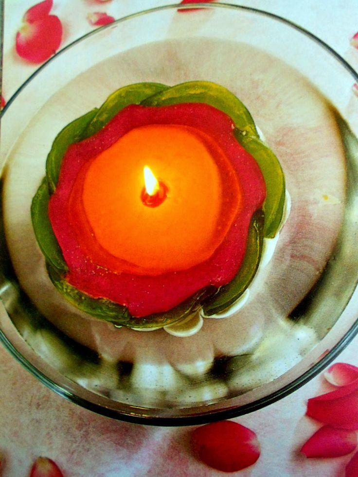ΚΑΤΑΣΚΕΥΕΣ ΚΕΡΙΑ: ΠΟΛΥΧΡΩΜΑ κεριά σε σχέδια ΛΟΥΛΟΥΔΙΩΝ | ΣΟΥΛΟΥΠΩΣΕ ΤΟ