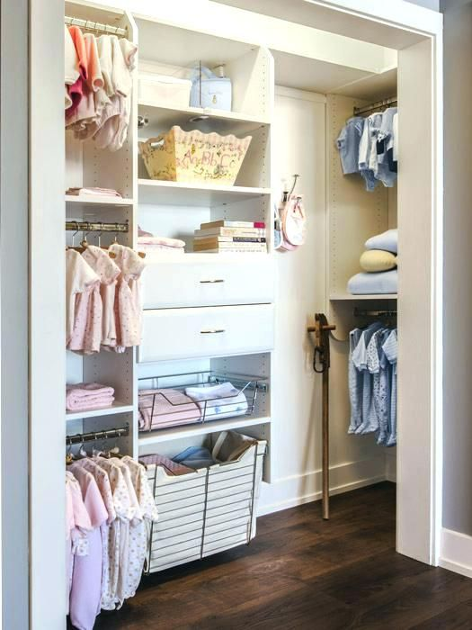 Deep Reach In Closet Ideas Angled View Of Kids Closets Featuring Deep Return For Additional Storag Kids Closet Design Bedroom Closet Design No Closet Solutions