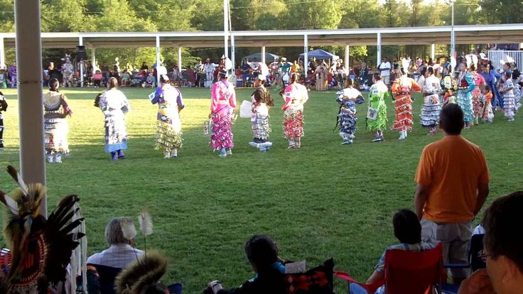 Jingle Dress Dance at 2012 Prairie Band Pow Wow