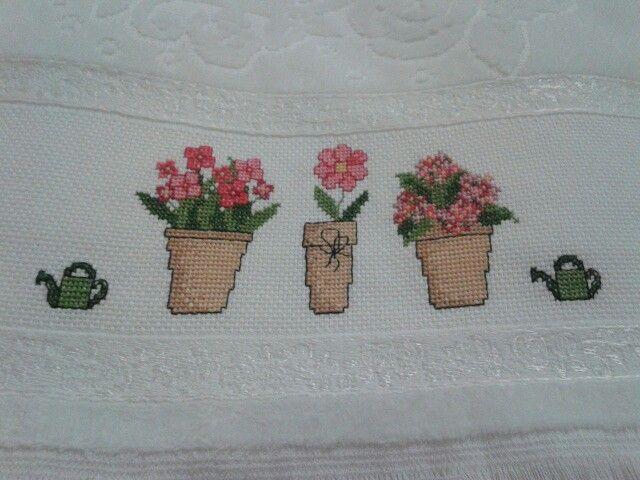 Saksıda çiçekler