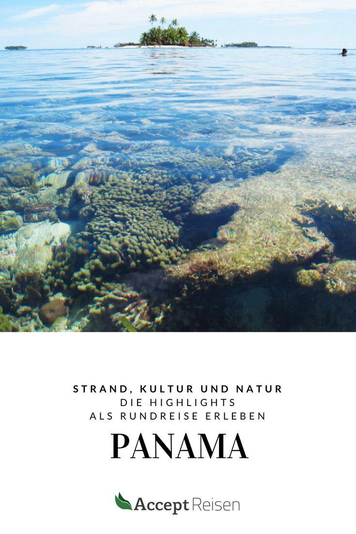 Reise zu den kulturellen, landschaftlichen und historischen Höhepunkten von Panama und Badeurlaub in der Karibik.