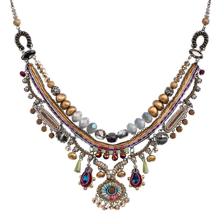 Golden Dawn Cloud Necklace Aayla Bar Hip Collection Summer 2016