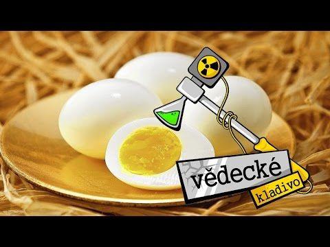 Proč vajíčko ztvrdne během vaření? - Vědecké kladivo - YouTube