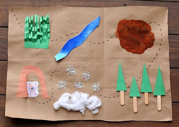 Here's a fun binocular and map craft inspired by the popular children's book…