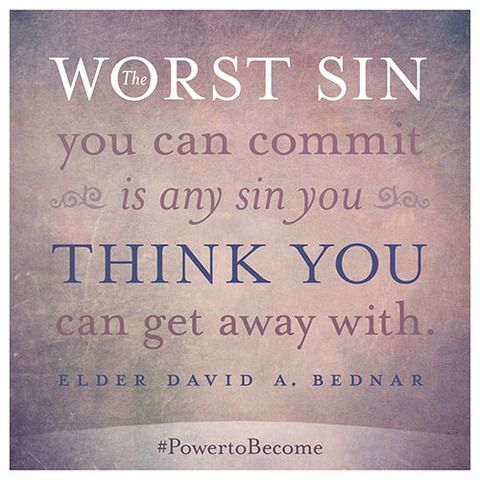 Wow.  Sanctifying yourself..... 6 Quick, Life-changing Insights from Elder Bednar's New Book