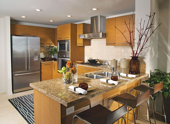 New Home Kitchen Designs Stock Photo Image. Architecture House Kitchen,  Appliance,photography,nobody,Interior