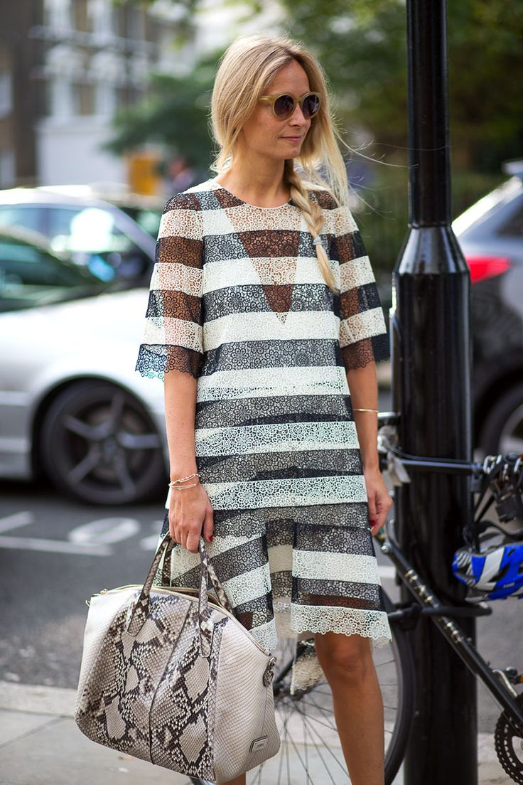 Chloe always gets it right. London Calling: Street Style Spring 2015