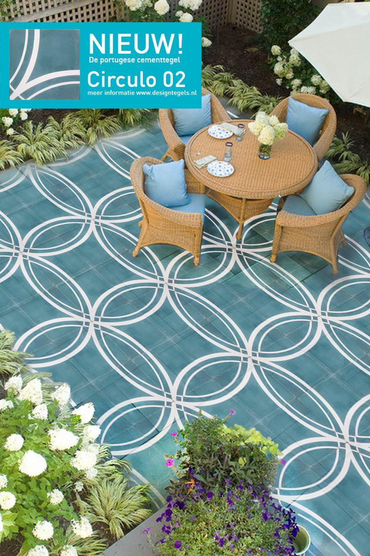 Circulo 02, New Design! Outdoor, Terrace, cementtiles