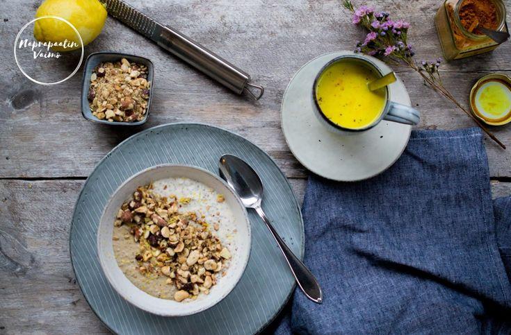 """Maidoton ruokavalio ja aamupalaproteiini tuntuvat ainaiselta """"ongelmalta"""". Munakasta ei jaksaisi syödä kokoajan ja leikkeleitä ei meille juurikaan osteta, koska niissä tuntuu ai…"""