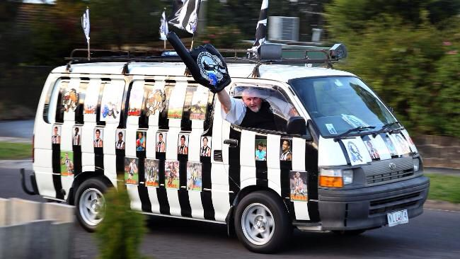 A Collingwood fan doing some worthwhile community service  http://www.dailytelegraph.com.au/collingwood-tragic-bob-ward-hits-thei-street-with-his-pies-van/story-e6freuy9-1225932786439