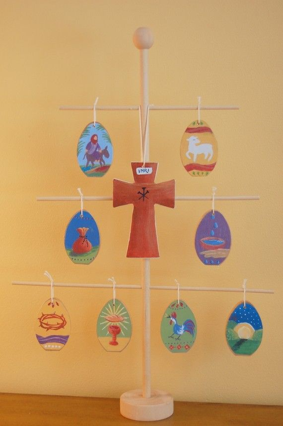 Holy Week Easter Tree