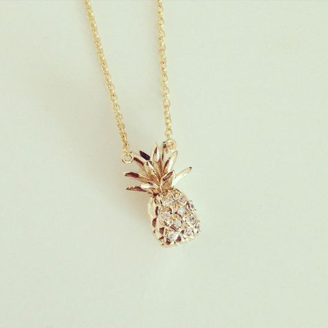 pineapple necklace.