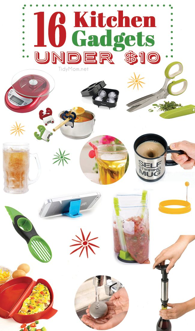 Best Kitchen Stocking Stuffers Under 10 Stockings Gift Guide And Foodies