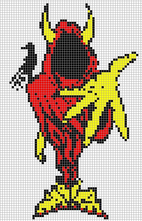 The wraith pixel art templates minecraft pixel art for Minecraft pixel art template maker