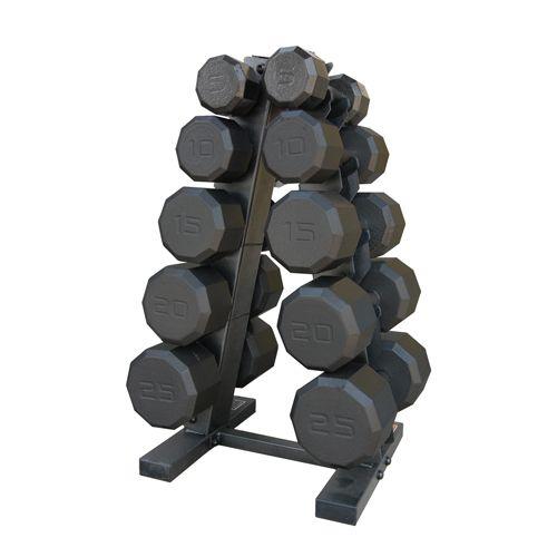 CAP 150 lb. Dumbbell Set with Rack