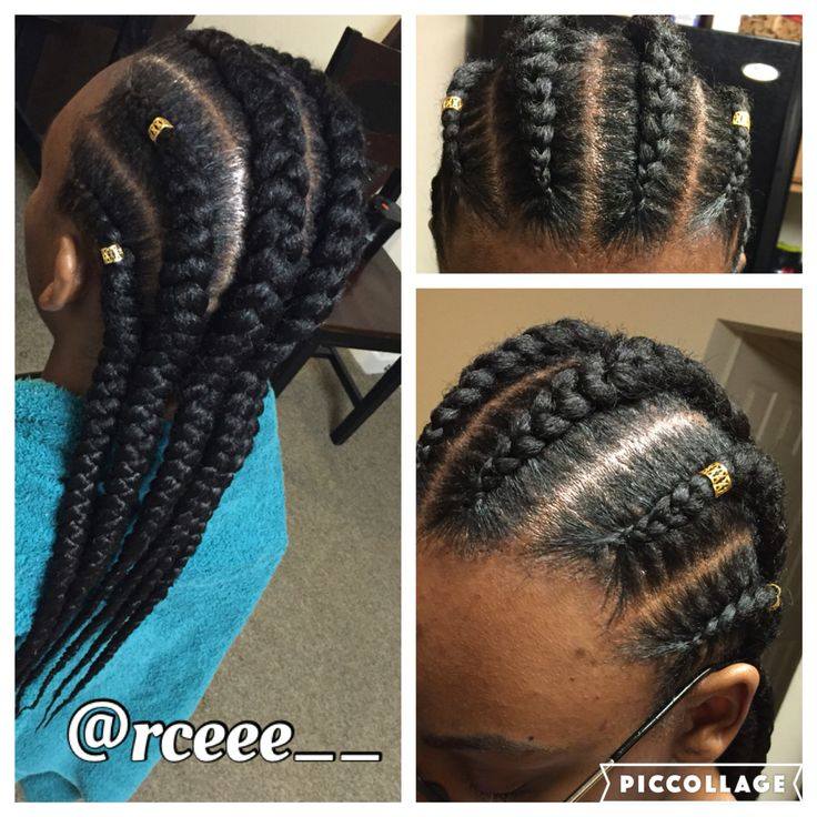 Straight Back Feed In Braids Straight Back Braids Feed