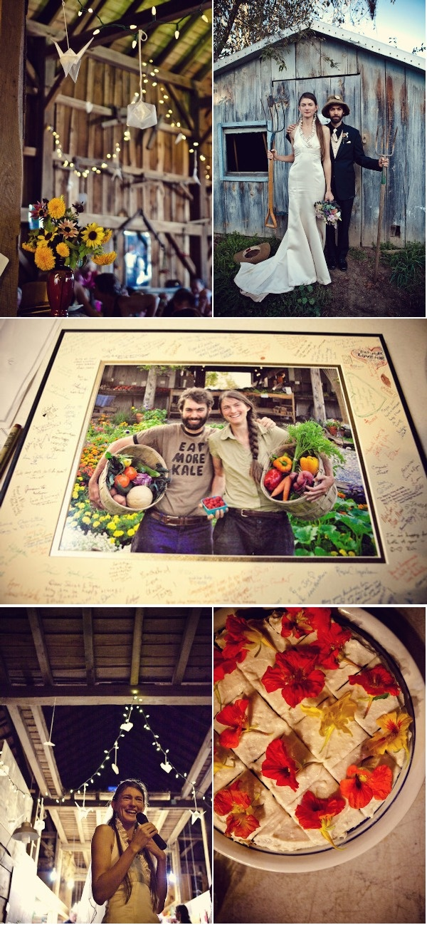 Organic farm wedding shot by Studio Foto. So amazing!