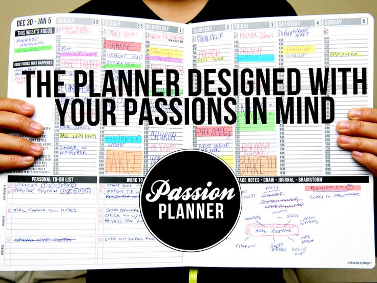 What is a Passion Planner? A Passion Planner is an all-in-one weekly appointment calendar, journal, goal setting guide, and to-do list log integrated in one handmade and durable faux-leather planner. It is a planner designed with your passions and personal goals in mind by seamlessly balancing functionality, personal reflection and goal setting in one place. #passion #leadership #organization #kickstarter