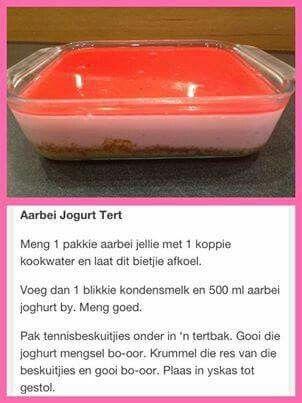 Aarbei Yoghurt Tert