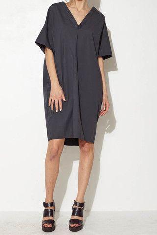 Navy Shift Dress by Ter et Bantine   shopheist.com