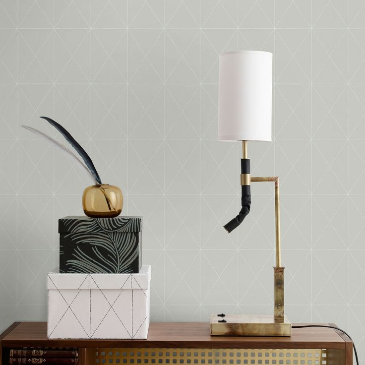 Otto Light grey. Sandberg Wallpaper. #wallpaper #design