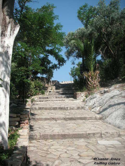 Stairway To Heaven- Pigeon Island Kuşadasi. Turkey