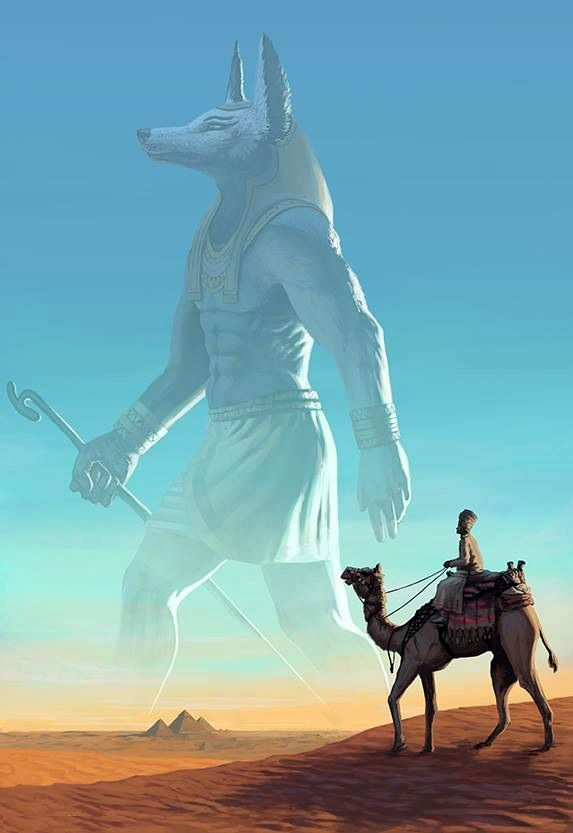 Anubis -- Guardian and protector of the dead