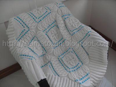 ELİMDEN GELENLER: Bebek Battaniyesi Motif Açıklaması