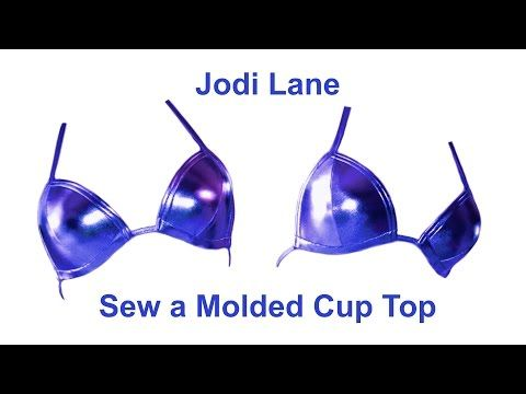 Jodi Lane - Sew a Molded Cup Top - YouTube
